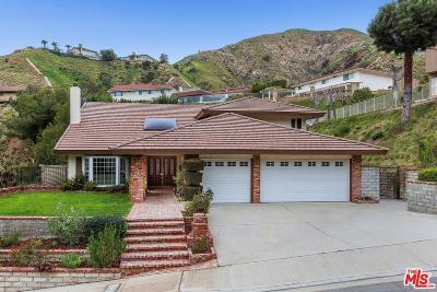 Burbank Single Family Home For Sale: 3333 Brace Canyon Road