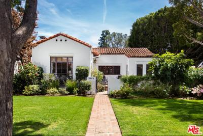 Santa Monica Single Family Home For Sale: 2702 Washington Avenue