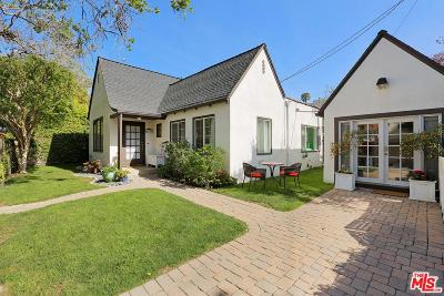 West Hollywood Single Family Home For Sale: 7606 Willoughby Avenue