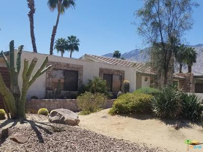 Palm Springs Single Family Home For Sale: 2295 Tamarisk Road