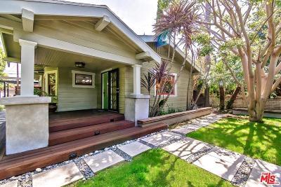 Venice Single Family Home For Sale: 2446 Glyndon Avenue