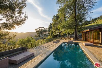 Topanga Single Family Home For Sale: 2096 Topanga Skyline Drive