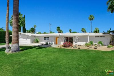 Palm Springs Single Family Home For Sale: 1350 East El Alameda