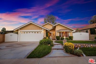 Valencia Single Family Home For Sale: 27648 Cypress Ridge Circle