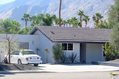 Palm Springs Rental For Rent: 1303 East Racquet Club Road