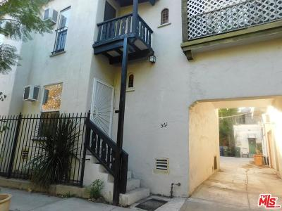 West Hollywood Rental For Rent: 361 North Sherbourne Drive