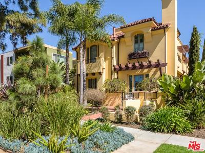 Santa Monica Condo/Townhouse For Sale: 941 11th Street #3