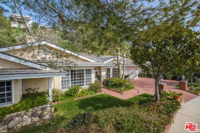 Single Family Home For Sale: 1674 North Doheny Drive