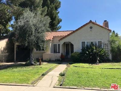 Studio City Single Family Home For Sale: 10728 Aqua Vista Street