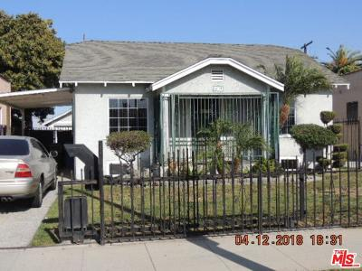 Los Angeles Single Family Home For Sale: 6608 2nd Avenue