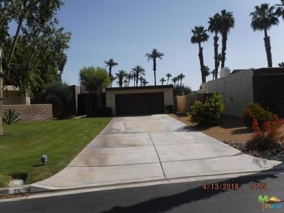 Rancho Mirage CA Single Family Home For Sale: $269,900