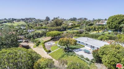 Malibu Single Family Home For Sale: 28932 Selfridge Drive