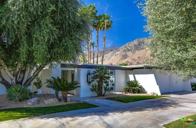 Palm Springs CA Single Family Home For Sale: $1,250,000