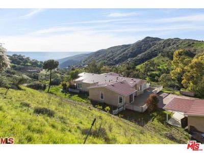Malibu CA Single Family Home For Sale: $1,995,000