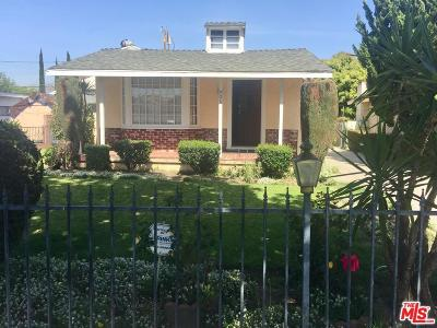 Burbank Single Family Home For Sale: 906 North Pass Avenue