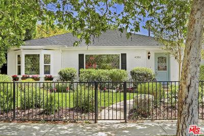 Single Family Home For Sale: 4386 Camellia Avenue