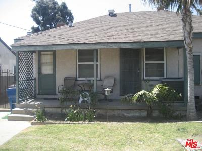 Inglewood Single Family Home For Sale: 9814 Crenshaw