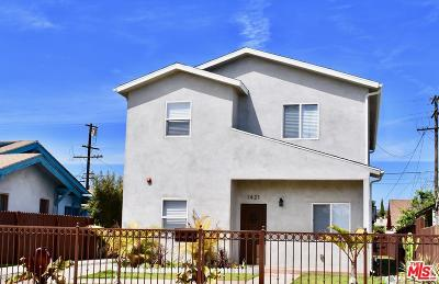 Los Angeles Single Family Home For Sale: 1421 West 46th Street