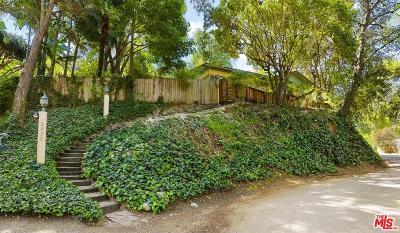 Los Angeles Single Family Home For Sale: 2936 La Castana Drive