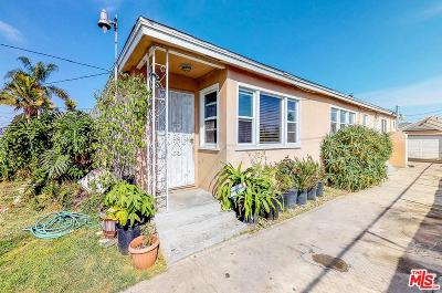 Compton Single Family Home For Sale: 2259 East 122nd Street