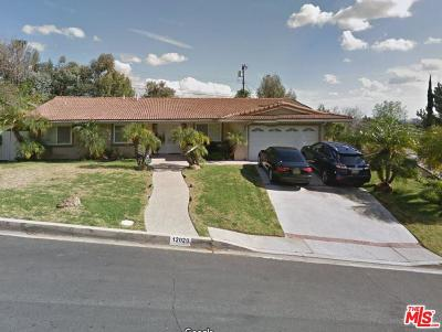 Los Angeles County Single Family Home For Sale: 12020 Jeanette Place