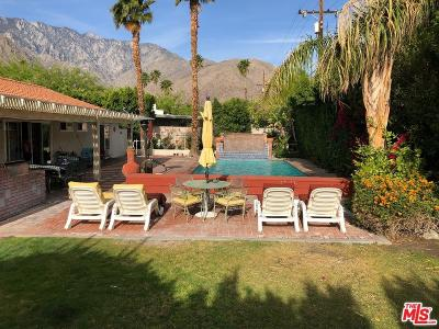Palm Springs Single Family Home For Sale