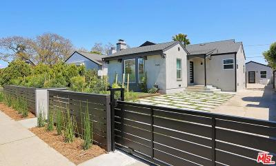 Los Angeles Single Family Home For Sale: 1904 South Bedford Street