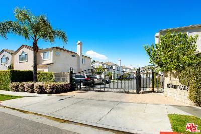 Northridge Single Family Home For Sale: 17739 Merridy Street #20