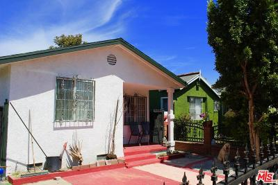 Los Angeles Single Family Home For Sale: 1535 West 59th Place