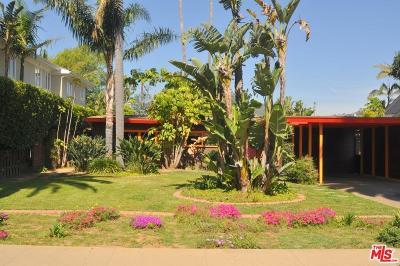 Pacific Palisades Single Family Home For Sale: 433 El Medio Avenue