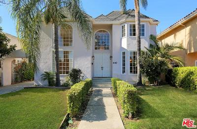 Beverly Hills Rental For Rent: 447 South Elm Drive