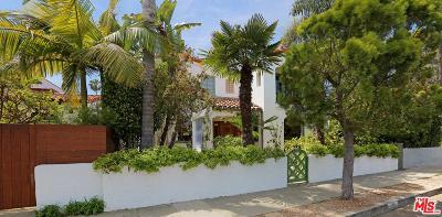 Venice Single Family Home For Sale: 213 Rennie Avenue