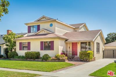 Single Family Home For Sale: 7420 El Manor Avenue