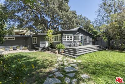 Topanga Single Family Home For Sale: 1334 Old Topanga Canyon Road