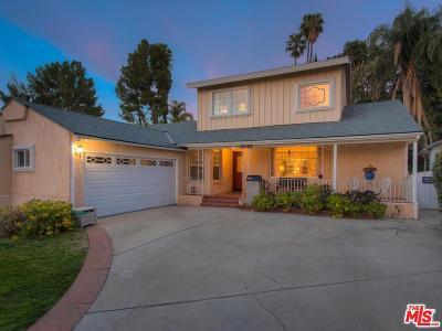Encino Single Family Home For Sale: 4906 Alonzo Avenue