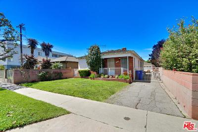 Culver City Single Family Home For Sale: 12333 Marshall Street