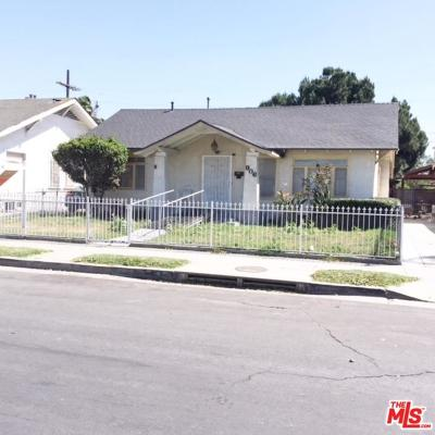 Los Angeles Single Family Home For Sale: 906 West 47th Street