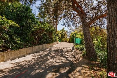 Los Angeles County Single Family Home For Sale: 12730 Mulholland Drive