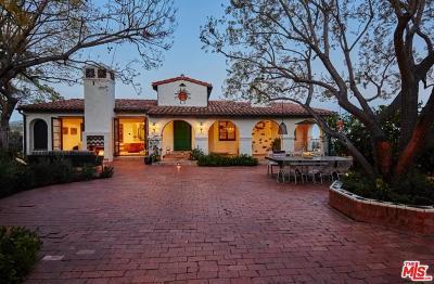 Single Family Home For Sale: 6900 Los Tilos Road