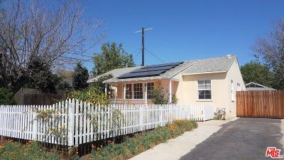 Valley Village Single Family Home For Sale: 11591 Cumpston Street