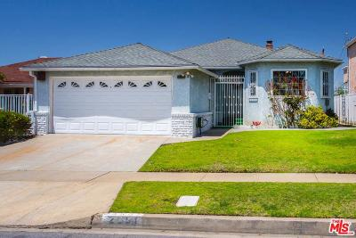 Inglewood Single Family Home For Sale: 2501 West 102nd Street