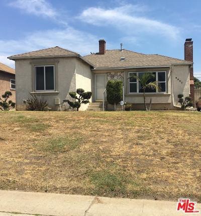 Inglewood Single Family Home For Sale: 9802 Crenshaw