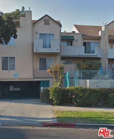 Inglewood Condo/Townhouse For Sale: 435 East Tamarack Avenue #168
