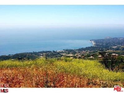 Malibu CA Residential Lots & Land For Sale: $8,000,000