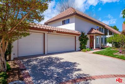 Westlake Village Single Family Home For Sale: 1055 Barrow Court