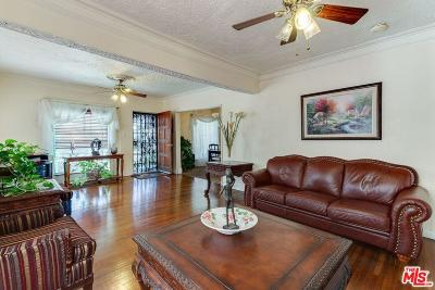 Los Angeles Single Family Home For Sale: 1635 West 60th Place