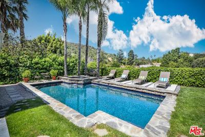 Sunset Strip - Hollywood Hills West (C03) Single Family Home For Sale: 7547 Woodrow Wilson Drive