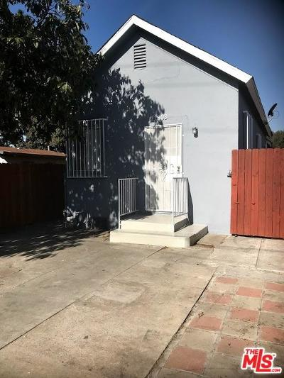 Los Angeles Single Family Home For Sale: 11803 Compton Avenue