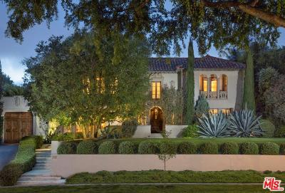 Hancock Park-Wilshire (C18) Single Family Home For Sale: 543 South Muirfield Road