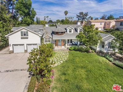 Encino Single Family Home For Sale: 4838 Gloria Avenue